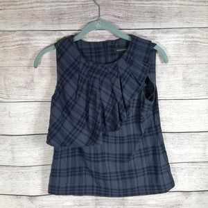 Banana Republic tank top Plaid